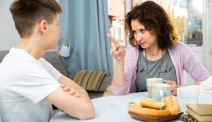 diálogo entre pais e filhos